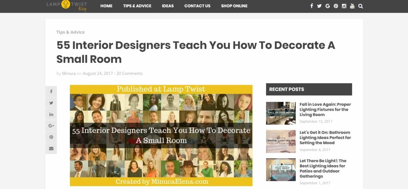 My expert roundups for Interior design expert