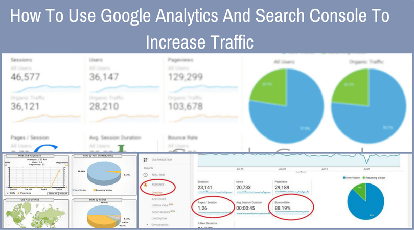 How To Use Google Analytics And Search Console To Increase Traffic