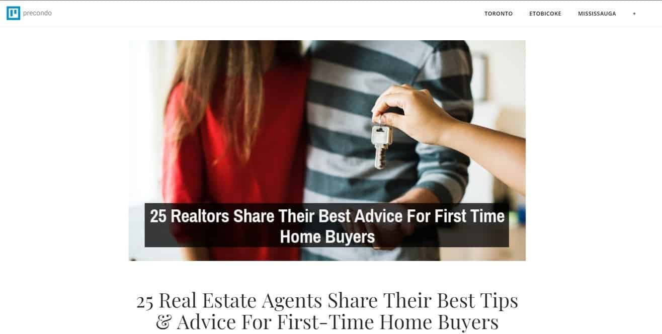 Real Estate Expert Roundup