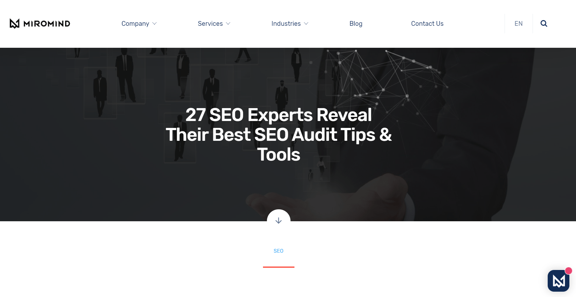 Best SEO audit expert roundup
