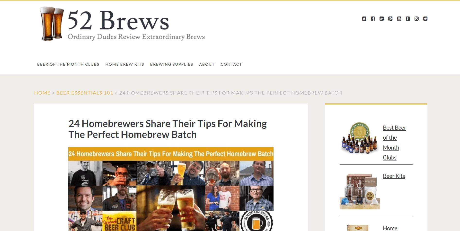 Beer expert roundup by Minuca Elena