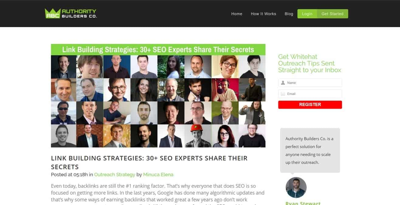 Link Building expert roundup by Minuca Elena