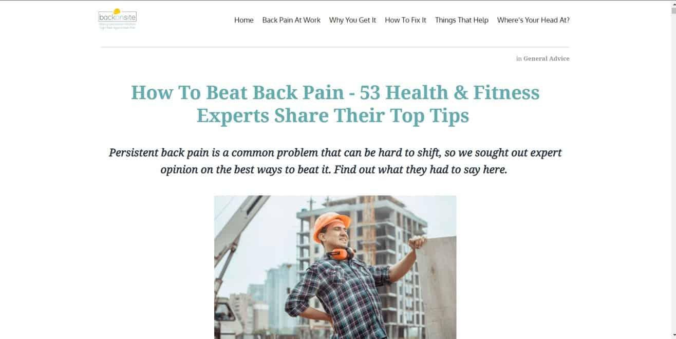 Medical expert roundup