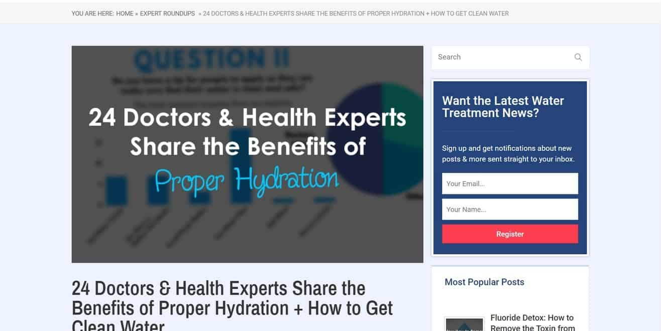 Expert roundup on health