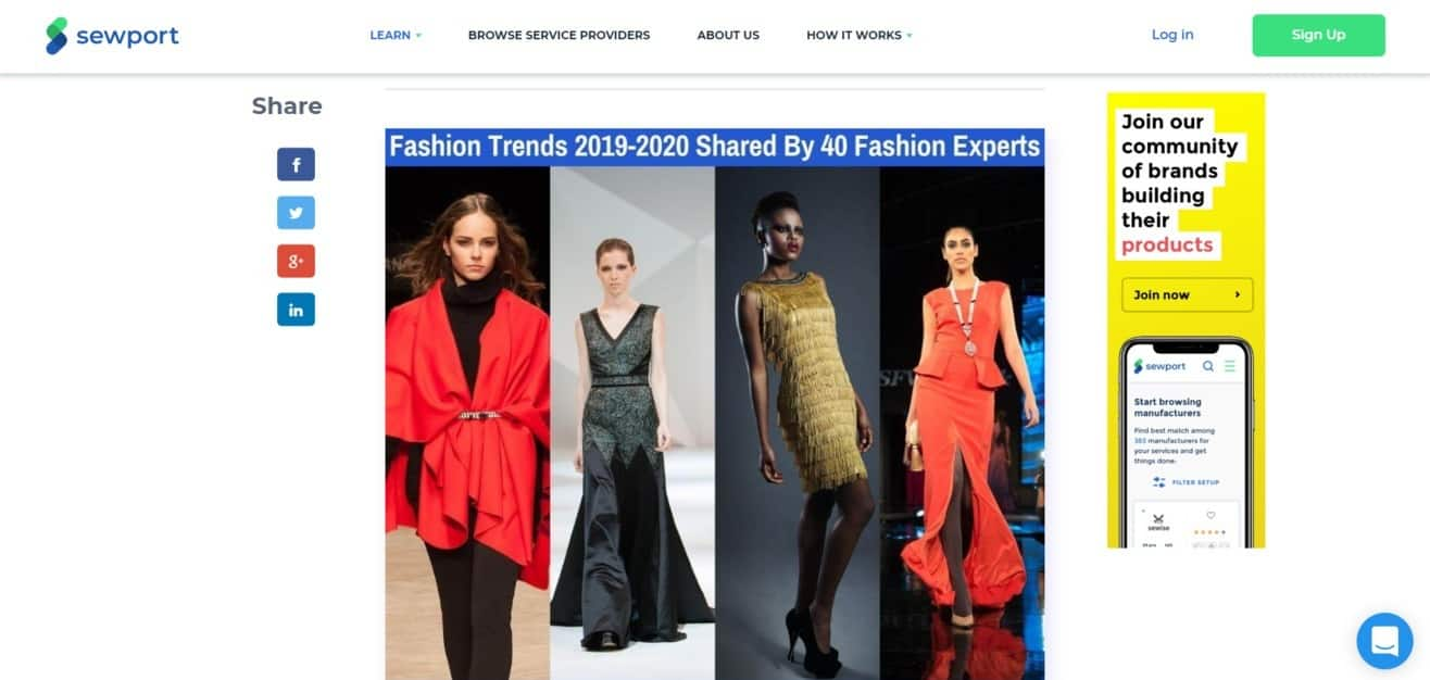 Fashion trends expert roundup