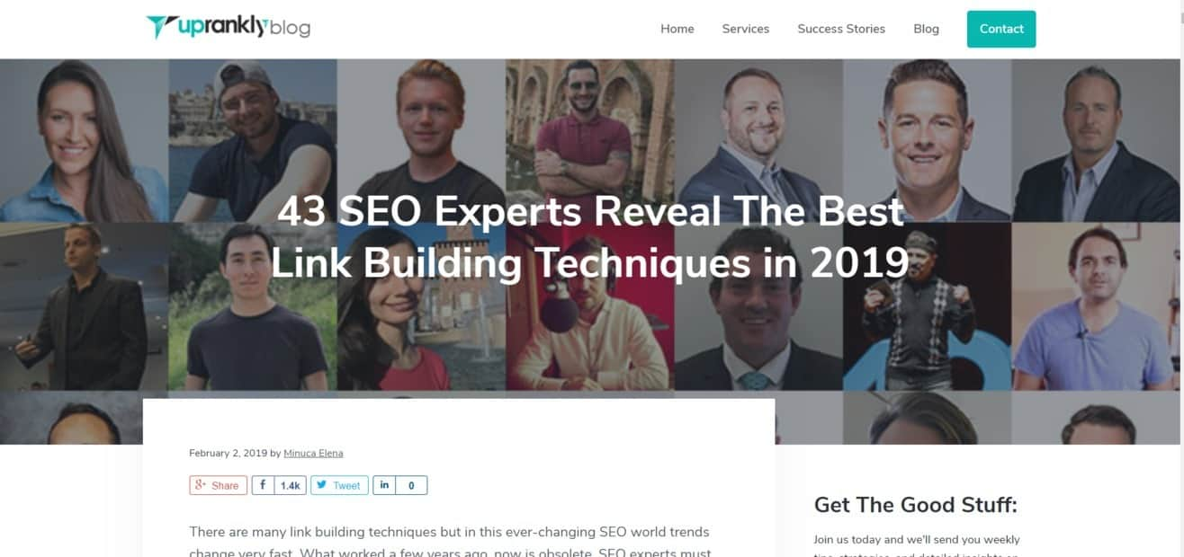 SEO agencies Expert Roundup