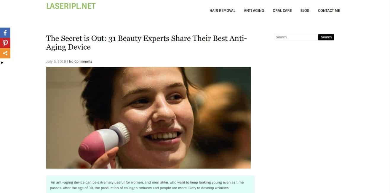 antiaging expert roundup by Minuca Elena