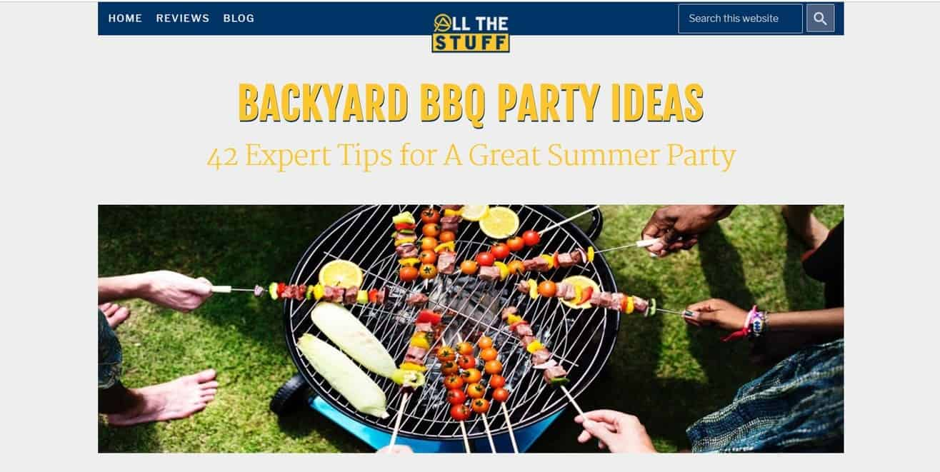 barbecue party expert roundup by Minuca Elena