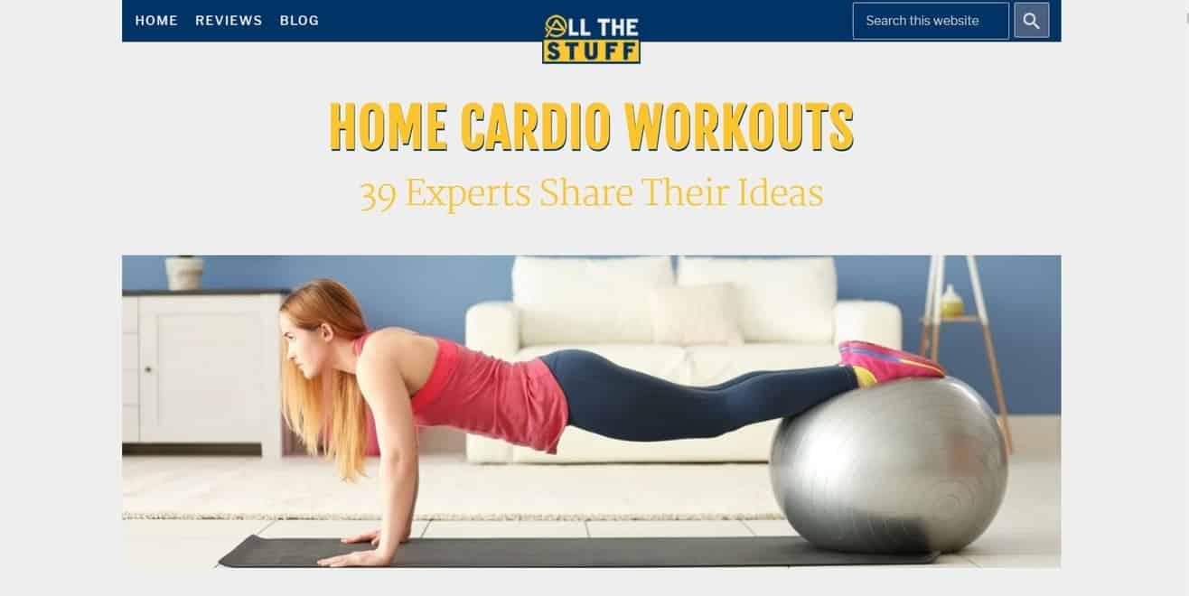 cardio exercises expert roundup
