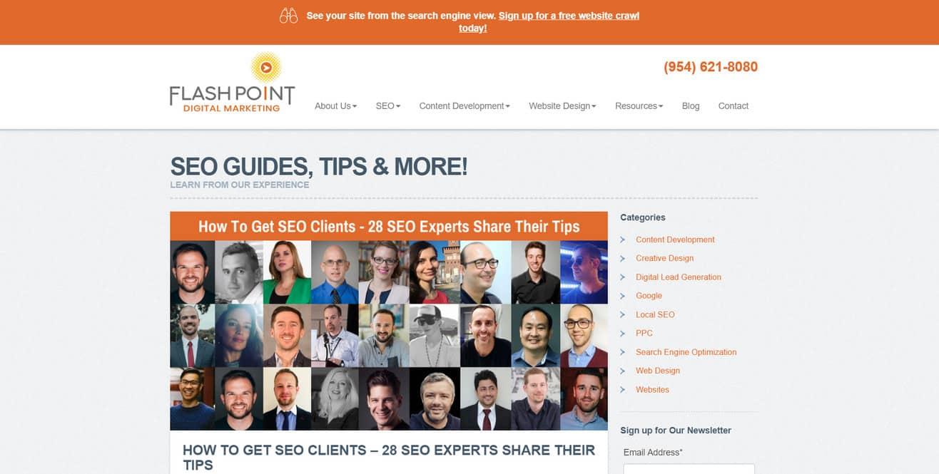 Get SEO client expert roundup