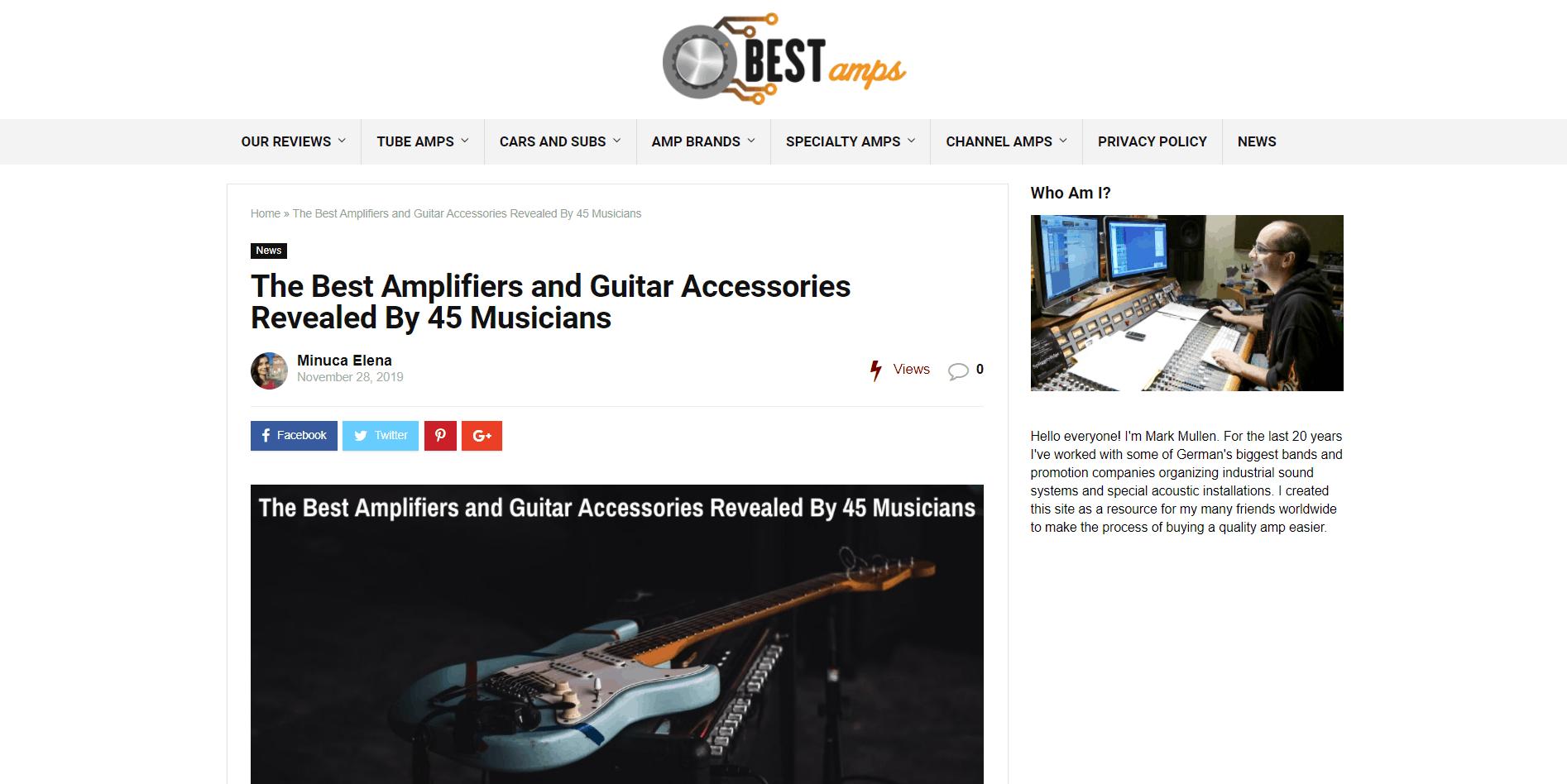 guitar accessories expert roundup