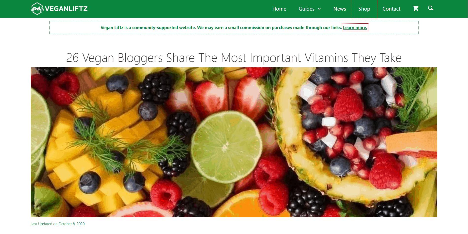 vegan supplements expert roundup