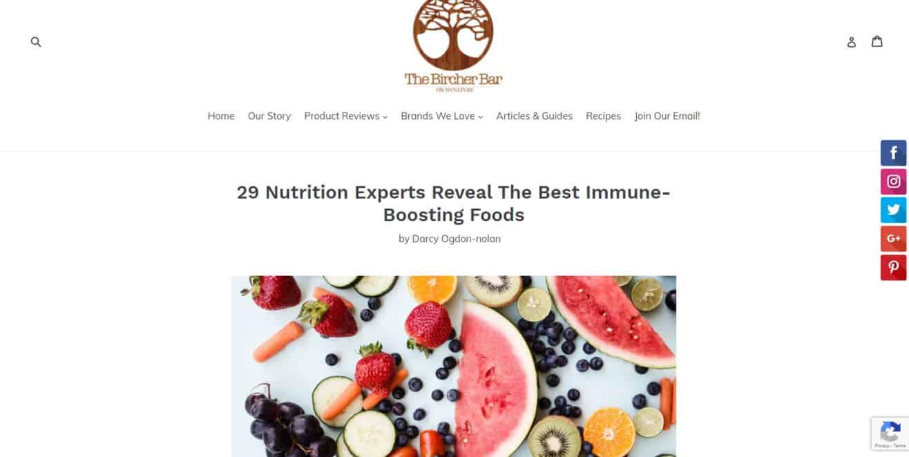 Nutrition expert roundup